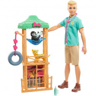 Set Ken Wildlife Vet Barbie You Can Be Anything