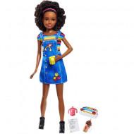 Set papusa Barbie creola cu accesorii Barbie Skipper Babysitter