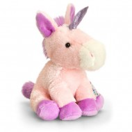 Unicorn roz de plus Pippins 14 cm