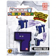 Vehicul transformabil Cifra 7 Siloz de rachete Pocket Morphers