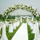Decoración de ceremonias.