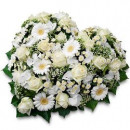 Corazón de Flores Variadas