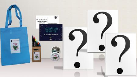 Pachet surpriză pentru copii (3 cărți)