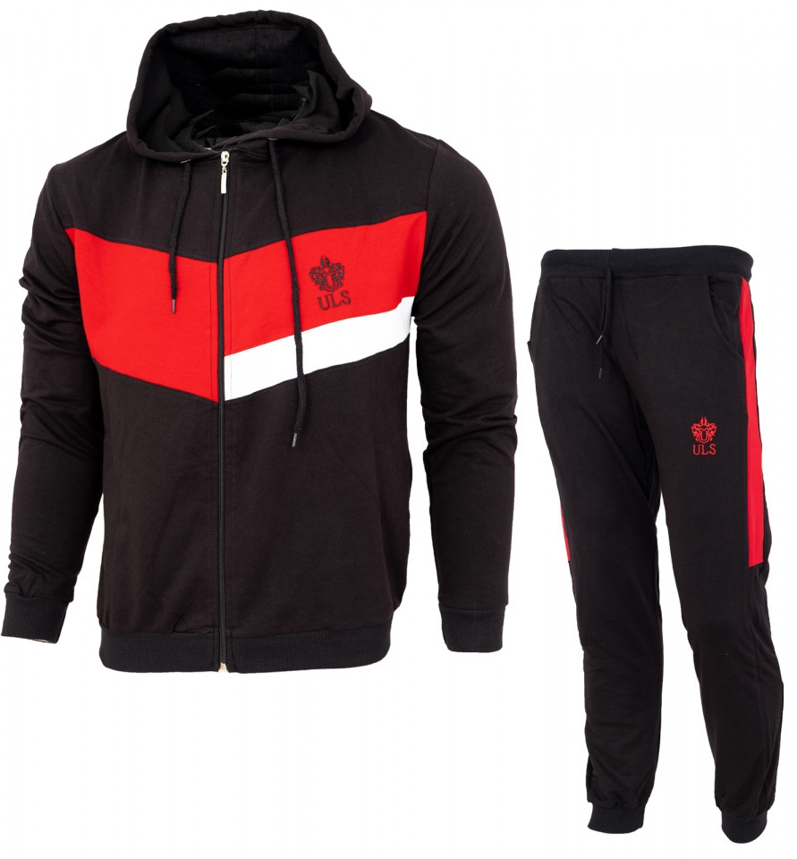 Trening bumbac slim fit B77