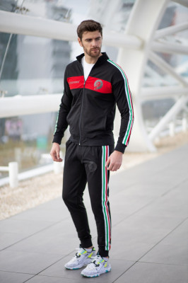 Trening bumbac slim fit M77
