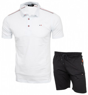 Compleu barbati tricou + pantaloni scurti S84