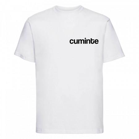 """tricou unisex """"cuminte"""""""