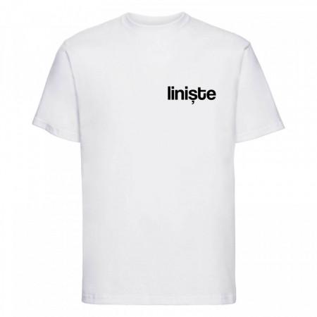 "tricou unisex ""liniște"""