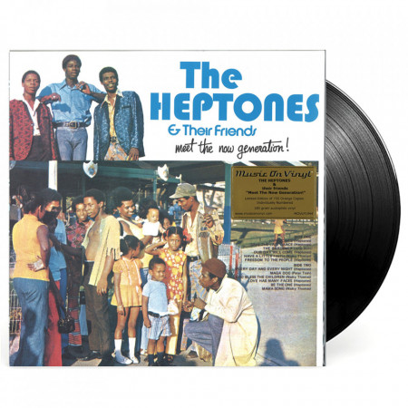 vinil The Heptones & their friends - Meet the new generation!