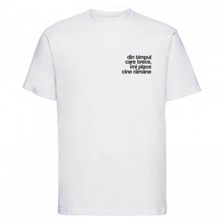 """tricou unisex """"din timpul care trece"""" NOU"""
