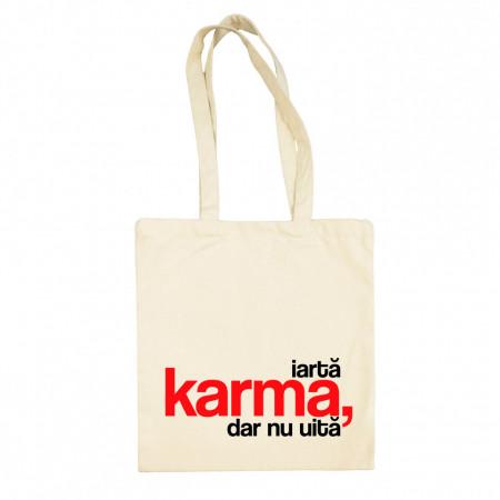 "sacoșă basic cu bretele lungi ""karma"""