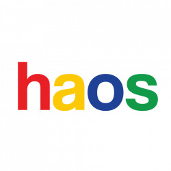 "tricou unisex ""haos"" NOU"