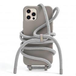 husă telefon cu șnur Modular Greige