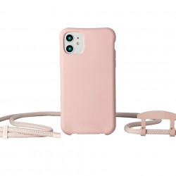 husă telefon cu șnur Powder Pink