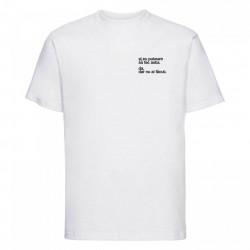 """tricou unisex alb """"și eu puteam să fac asta"""""""