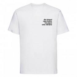 """tricou unisex """"din timpul care trece"""""""