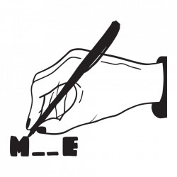 "tricou unisex ""m__e"" Tombabe & Diana Letzner Collab. *EDIȚIE LIMITATĂ"
