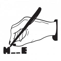 "tricou unisex ""m__e"" Tombabe & Diana Letzner Collab. *seria de artiști"