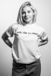 """tricou unisex """"pot, dar nu vreau"""""""