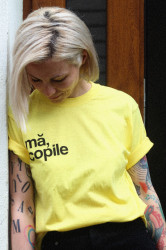 """tricou unisex """"mă, copile"""""""