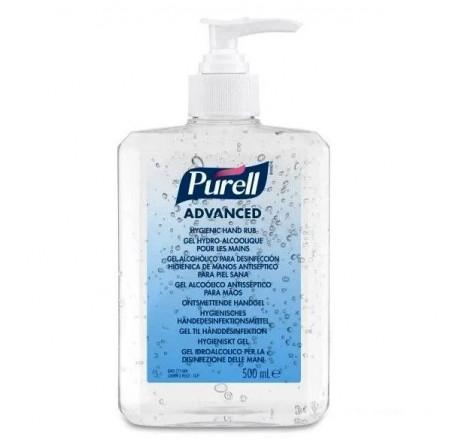 Gel dezinfectant pentru mâini PURELL ADVANCED 500 ml cu pompiță