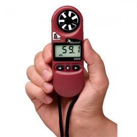Anemometru portabil Kestrel 3000 cu termometru si umiditmetru