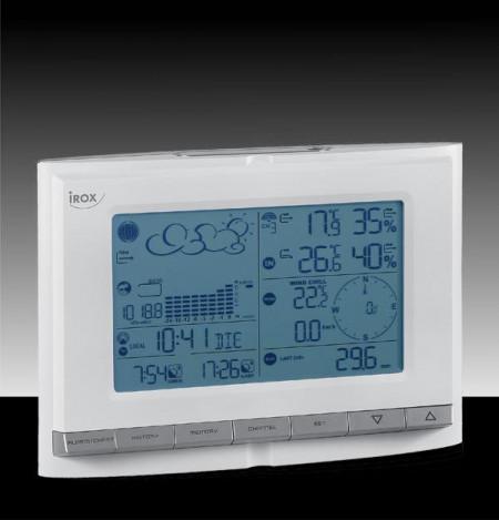 Statie meteo Irox PRO EC cu senzori wireless de viteza si directie vant, pluviometru, temperatura si umiditate