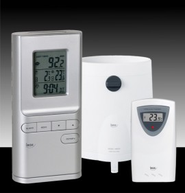 Statie meteo cu pluviometru si termometru wireless Irox HRG150