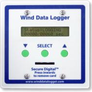 Sistem de inregistrare a vitezei si directiei vantului Winddatalogger