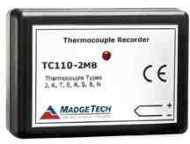 Inregistrator de temperatura cu termocupla MadgeTech TC110-2MB
