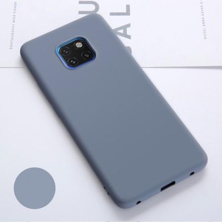 Husa Huawei Mate 20 PRO Albastra Deschisdin Silicon Premium Ultra Soft