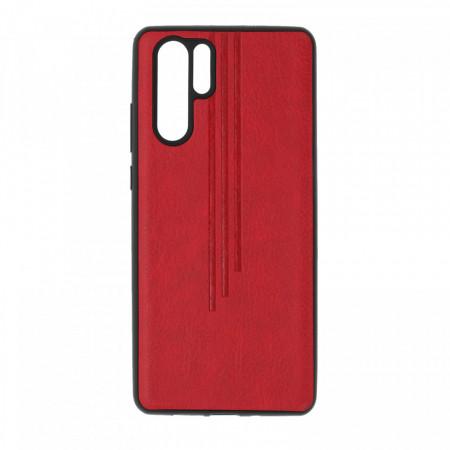 Husa Huawei, spate, rosu, P30PRO-M6-V3