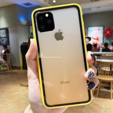 Husa iPhone 11 Pro Galbena Gradient Antisoc