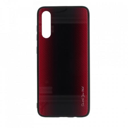 Husa pentru Huawei P20 PRO - Husa Pro Shield Glass Rosu cu Efect Gradient