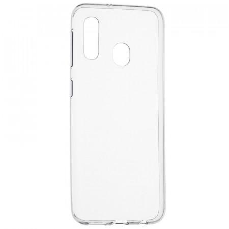 Husa Samsung Galaxy A20e - Spate din Silicon - Transparent