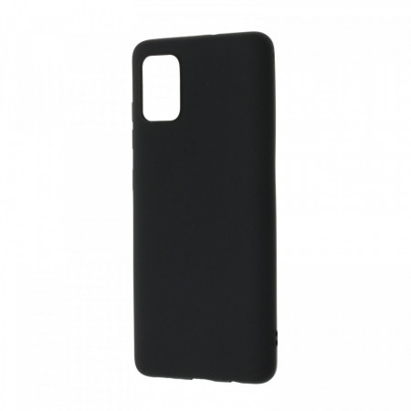 Husa Samsung Galaxy A51 flexibila din silicon, negru A51-M3