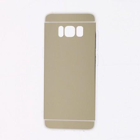 Husa Samsung Galaxy S8 Silicon Mirror Gold