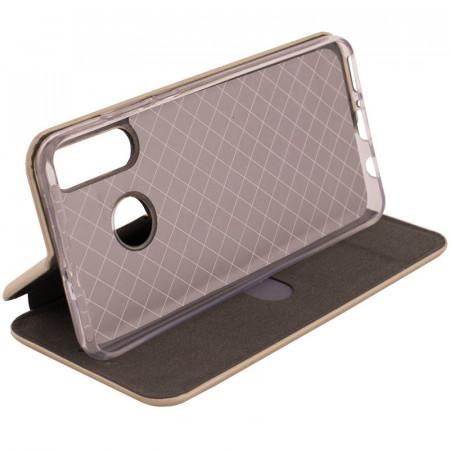Husa Huawei Y6p - Flip Magnet Book Type - Gold