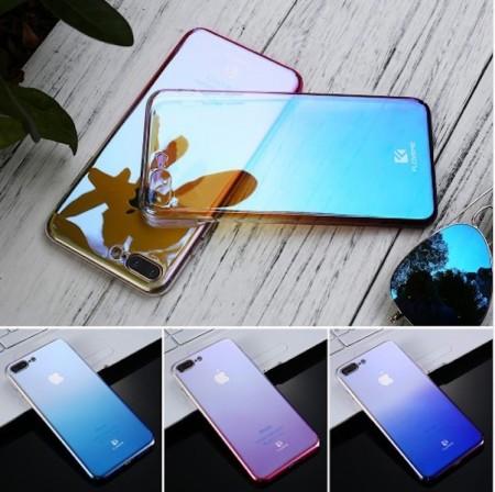Husa iPhone 5 si 5S SE Luxury Mirror Ultra Slim Transparenta Polarizata
