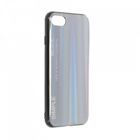 Husa iPhone 7 | 8 | SE (2020) - Husa Gradient Aurora Colorful - Indigo