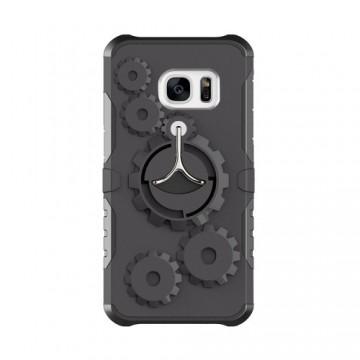 Husa Samsung Galaxy J3 PRIME Antisoc Black Gear Design Cu Suport