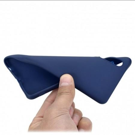 Husa Huawei Mate P30 Albastra din Silicon Premium Ultra Soft