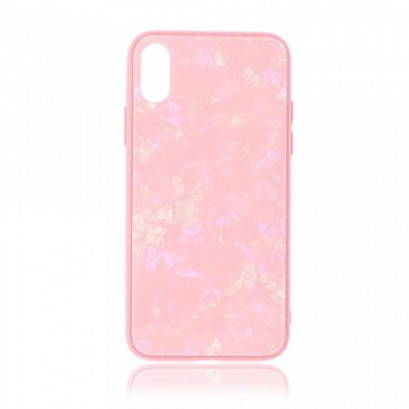 Husa iPhone X sau XS High Pro Shield Glass Pink