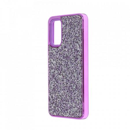 Husa pentru Samsung Galaxy S20 - Husa Luxury Glitter Diamond Mov