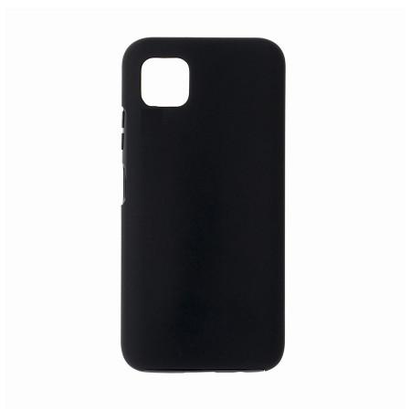 Husa Samsung Galaxy A41 - 360 Fully cu Spate din Policarbonat si Folie din Silicon - Black