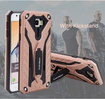 Husa Samsung Galaxy J5 PRIME Antisoc Rose Gold Easybear Cu Suport