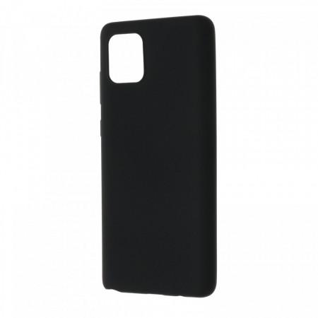 Husa Samsung Galaxy NOTE10Lite flexibila din silicon, negru NOTE10L-M3
