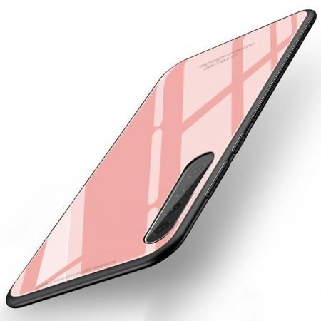 Husa Huawei P30 Glass Case Roz