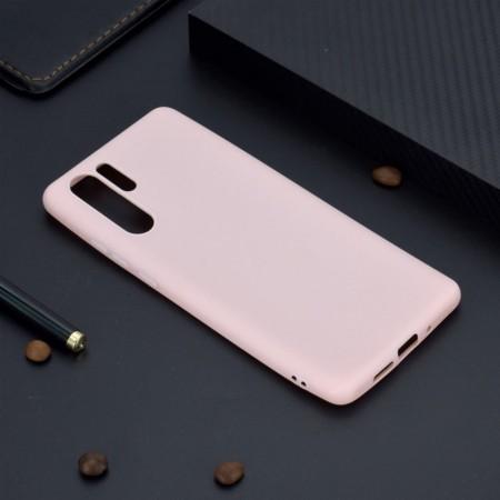 Husa Huawei P30 Pro Roz din Silicon Premium Ultra Soft