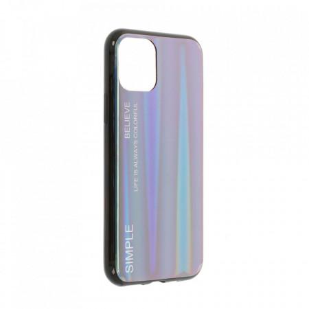 Husa iPhone 11 PRO - Husa Gradient Aurora Colorful - Indigo